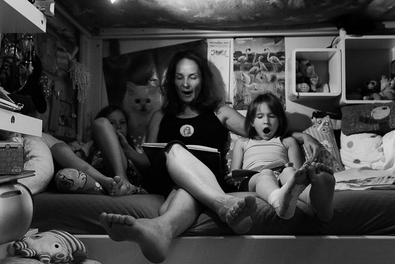 Familienzeit-Session mit Belina, Hansjörg, Anna und Lena